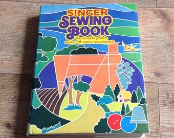 Vintage Singer Sewing Book, vintage sewing reference book , Sewing guide book
