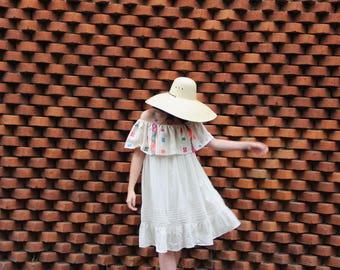 Beige Gorgeous lightweight Off the shoulder plus sized dress