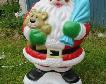 Santa Blow Mold Christmas Light