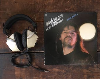 Vintage Bob Seger Record, The Silver Bullet Band, Night Moves, Vintage Vinyl, Vinyl Album, Classic Rock, 70s Rock