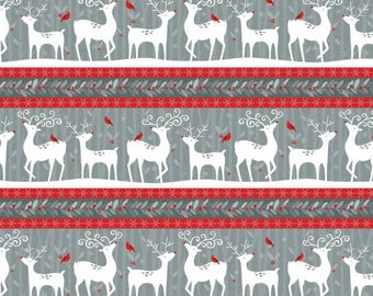 Wilmington Prints - Alpine - Repeating Stripe - Multi -  Fabric by the Yard 70402-931
