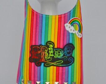 Dog Harness Vest - Pride - Love is Love - Gay Pride - Rainbow Dog Harness - Boy Dog Harness - LGBT - Pride Month - Parade