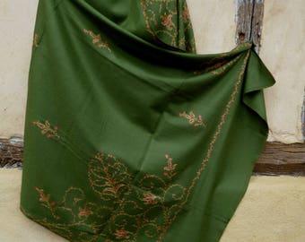 Green Shawl