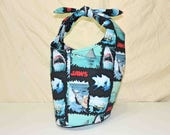 Jaws The Movie Fully Lined Tote Bag Purse