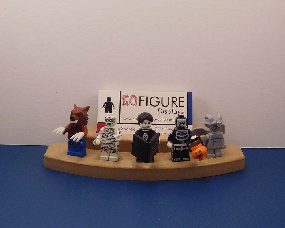 Business Card Holder and LEGO Minifigure Stand
