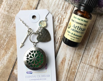 Always in my Heart Diffuser Collection Necklace