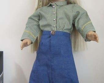Western Outfit for American Girl and other 18 inch Dolls