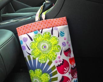 On Sale Car Trash Bag ANNA MARIA HORNER LouLouThi Grapefruit Pink, Women, Car Litter Bag, Car Accessories, Auto Bag, Car Organizer