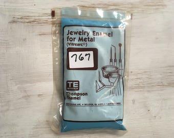 Blue Liquid Enamel, Peacock, Thompson Enamel, Liquid Enamel, Powdered Glass, Enameling Supplies, Kiln Enamel, Torch, 1 oz. sample enamel