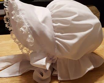 Boutique Custom Made  Bonnet