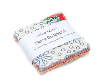Merry Go Round mini charm pack by American Jane for Moda - In Stock!