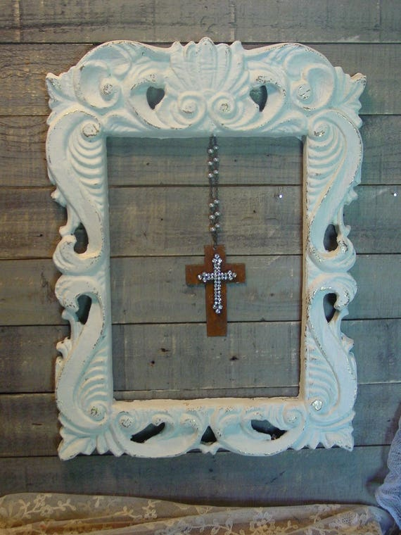 Ornate frame wall art hollywood regency frame hand for Hollywood regency wall decor