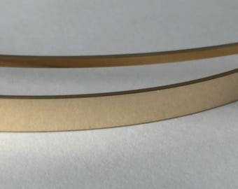 1 ozt 14kt yellow gold fill flat stock wire, jewelry making wire, gold fill sizing stock, rectangle wire, sizing stock,
