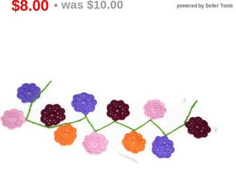 Maybelle Flower Garland Flower Banner Party Banner Home Decor Hanging Banner