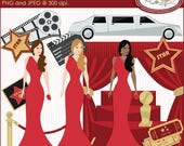 65%OFF SALE Red carpet clipart, Hollywood clipart, Oscar ceremony clipart, Grammy awards clipart, celebrity clipart, movies clipart, P110