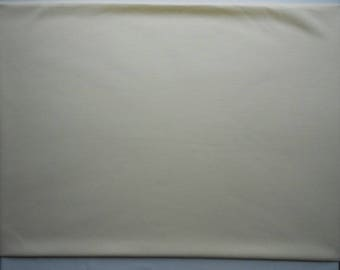 Ivory Beige Ponte Roma Knit fabric pieces - natural color