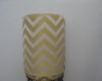 Chevron Home Decor Bottle Cover for 5 Gallon Water Standard Size