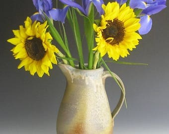 Wood fired pitcher/vase