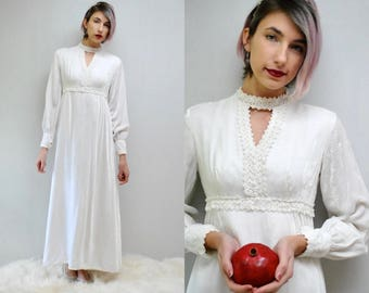 Velvet Wedding Dress Winter Long Sleeve