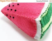 ON SALE One watermelon play fruit slice