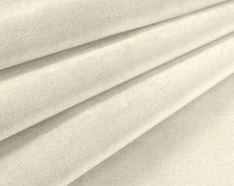 Velvet Upholstery Fabric Como 827 Snow