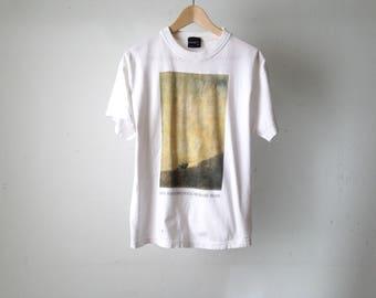 vintage 90s FRANCISCO GOYA museo nacional de PRADO white painters t-shirt