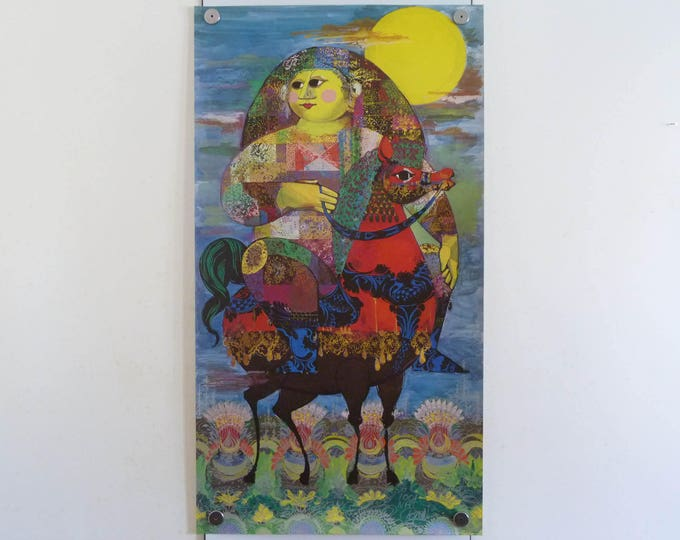 Bjorn Wiinblad print poster original 1001 Nats Arabian Nights