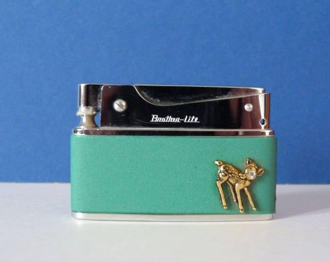 Vintage Gas Lighter Unused boxed Gift MCM Vintage Find