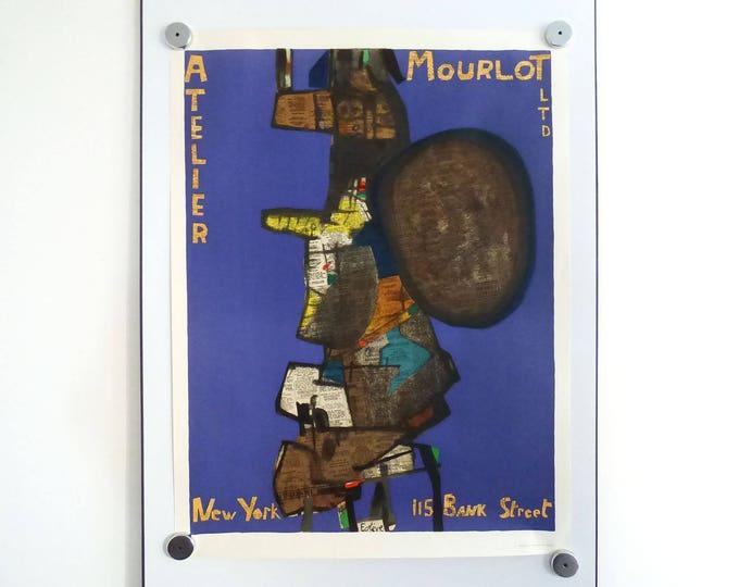 Maurice Estéve - Altelier Mourlot Ltd. / New York 115 Bank Street poster print