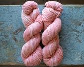 dk weight wool yarn {madder root}