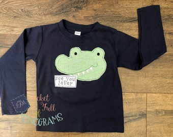 See You Later Alligator Bodysuit T-shirt