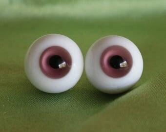18mm Glass BJD Eyes, Dark Purple Color