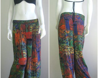 70s 80s vtg palazzo trousers