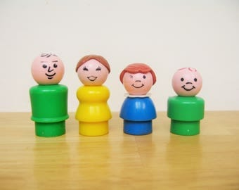 Fisher Price Family of Four Little People