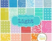 "Blueberry Park 2017 - Light - Charm Pack - by Karen Lewis for Robert Kaufman - 42 - 5""x5"" Fabric Quilting Squares"