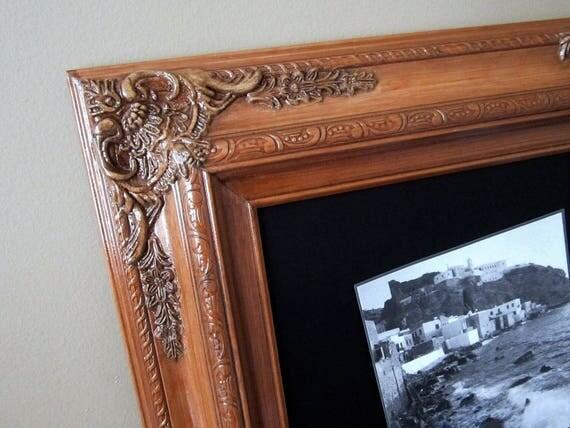 Long Narrow Chalkboard For Sale 56x32 Baroque Oak