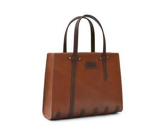 Tote Bag // Leather Handbag // Laptop Bag // DE BRUIR