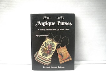 Antique Purses Book by Richard Holiner Art Deco Mesh and Beaded Illustrated Book 1987