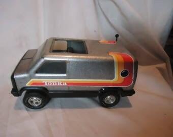 Vintage 1970'S Tonka Metal CB Van Radio Truck Toy, collectable