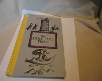 Vintage 1956 The Little Lame Prince by Dinah Mulock Junior Deluxe Edition Children's Book by Nelson Doubleday, hardback, collectable