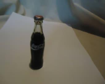 Vintage Coca Cola Miniature Glass Bottle Arkansas, collectable, Coke