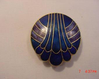 Vintage Enameled Scarf Holder  17 - 779