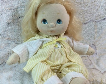 20% SALE 1984 My Child Doll Mattel Long Blonde Blue Eyes Beautiful with Outfit