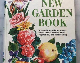 1970s Better Homes & Gardens New Garden Book
