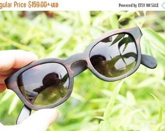 20% off SUMMER SALE COVER-M handmade ebony wooden Takemoto prescription Rx customize  sunglasses