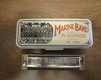 Marine Band Harmonica Key of C