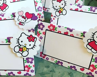 Hello Kitty Table Signs