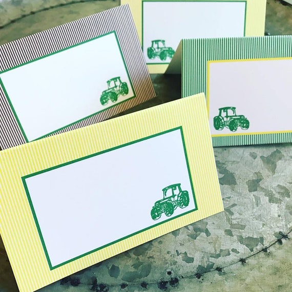 Tractor Table Food Signs