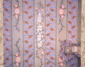 Peaceful Garden Path Quilt Pattern - Uncut - Q105