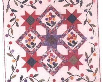 Summer Blooms Quilt Pattern - Uncut - Q107